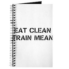 Eat Clean Train Mean Journal