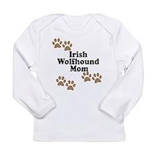 Irish Wolfhound Mom Long Sleeve T-Shirt