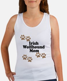 Irish Wolfhound Mom Tank Top