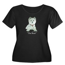 The Boss 6x6 Clear Plus Size T-Shirt