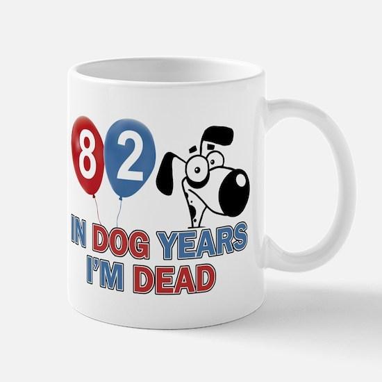Funny 82 year old gift ideas Mug