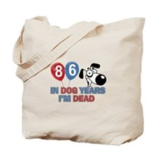 Funny 86 year old gift ideas Tote Bag