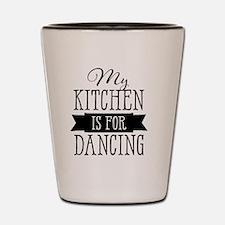 Funny Dance mom Shot Glass