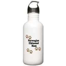 Norwegian Elkhound Mom Water Bottle
