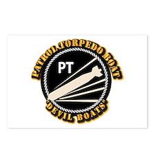 Navy - PT Boats - Devil Boats Postcards (Package o