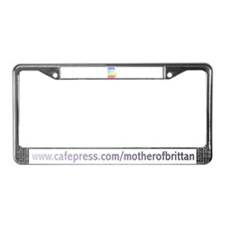 Brittany License Plate Frame
