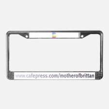 Brittany License Plate Frame