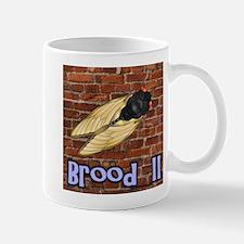 Brood II On A Brick Wall Mug