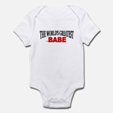 """The World's Greatest Babe"" Infant Creeper"