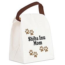 Shiba Inu Mom Canvas Lunch Bag