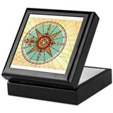 Compass rose Keepsake Boxes