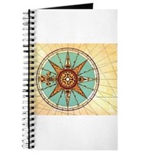 Antique Compass Rose Journal
