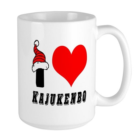 I Love Kajukenbo Large Mug
