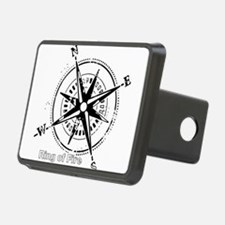 Ring of Fire Graphic Compass Hitch Cover