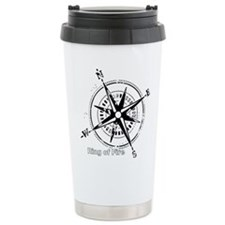 Ring of Fire Graphic Compass Travel Mug