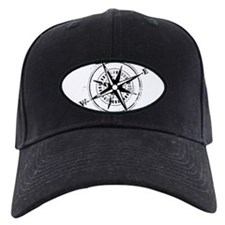 Ring of Fire Graphic Compass Baseball Hat