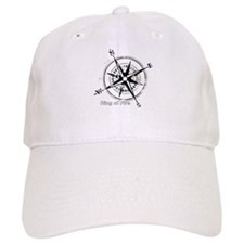 Ring of Fire Graphic Compass Baseball Baseball Cap