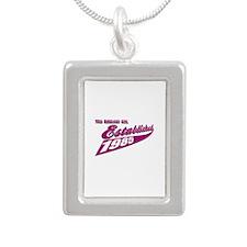 Established in 1985 birthday designs Silver Portra
