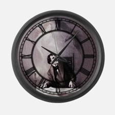 Vintage The Raven Theatrical Large Wall Clock