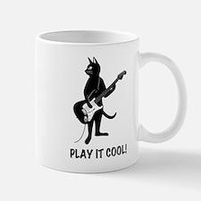 Cat Playing the Guitar Mug