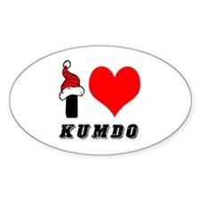I Love Kumdo Decal