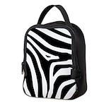 Zebra Neoprene Lunch Bag