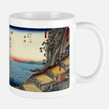 Yui - Hiroshige Ando - 1848 - woodcut Mugs