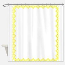 Border Ornament 20 Shower Curtain