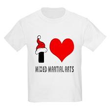 I Love Mixed Martial Arts T-Shirt