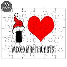 I Love Mixed Martial Arts Puzzle