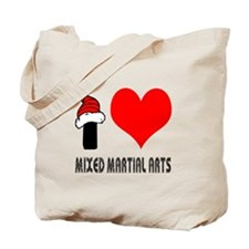 I Love Mixed Martial Arts Tote Bag