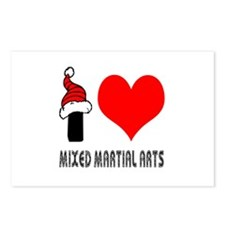 I Love Mixed Martial Arts Postcards (Package of 8)