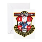 Austria Bundes Polizei Greeting Cards (Package of