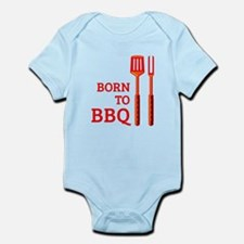 Born To BBQ Infant Bodysuit