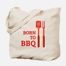 Born To BBQ Tote Bag