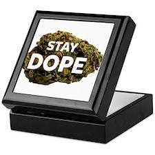 STAY DOPE Keepsake Box