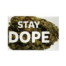 STAY DOPE Rectangle Magnet