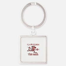 I love Alden Square Keychain