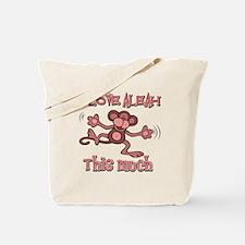 I love Aleah Tote Bag