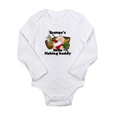 Gramps's Fishing Buddy Body Suit