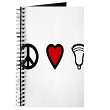 Lacrosse Peace Love Lax Journal