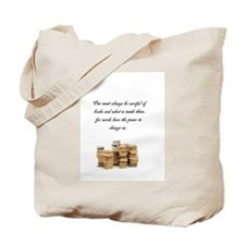 Books change us Tote Bag