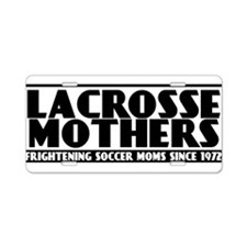 Lacrosse Mothers Aluminum License Plate