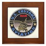 Miami Customs Framed Tile