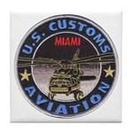 Miami Customs Tile Coaster