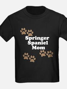 Springer Spaniel Mom T-Shirt
