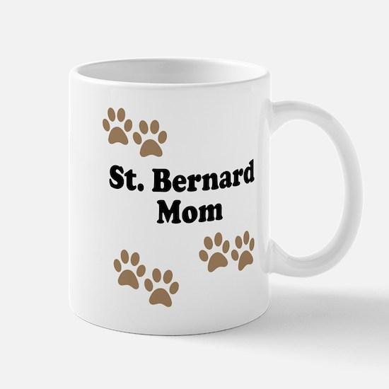 St. Bernard Mom Mug