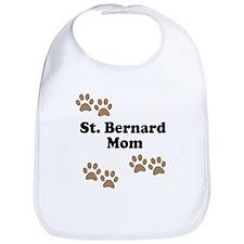 St. Bernard Mom Bib