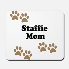 Staffie Mom Mousepad