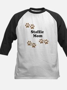 Staffie Mom Baseball Jersey